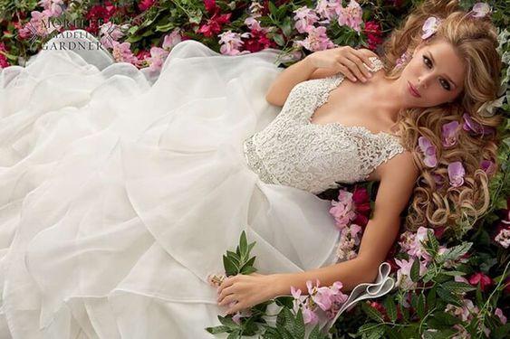 Romantische Bruidsjaponnen Bruidsmode Chantal